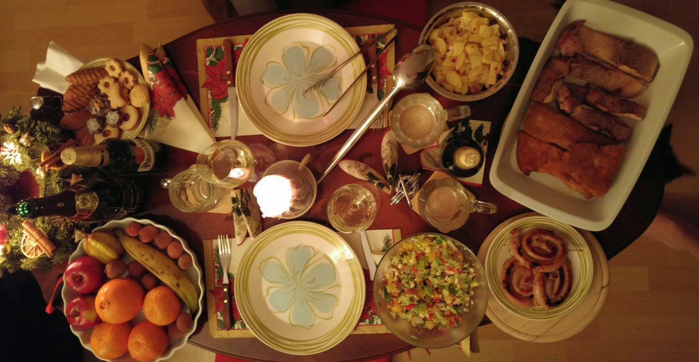 Christmas Eve's dinner / Štědrovečerní večeře