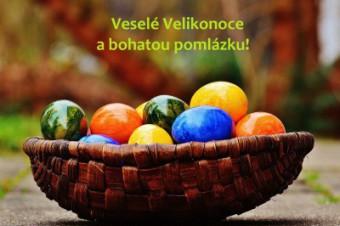 Happy Easter! / Veselé Velikonoce!